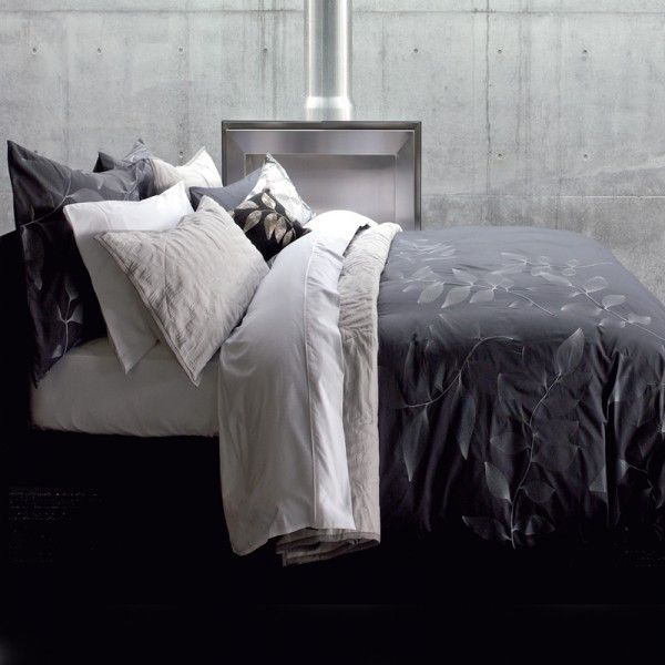 Masculine Bed Linen Color Scheme For Simple Teen Boy: How To Create A... Masculine Bedroom.