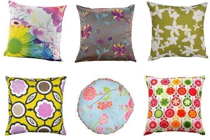 quick shop floral cushions