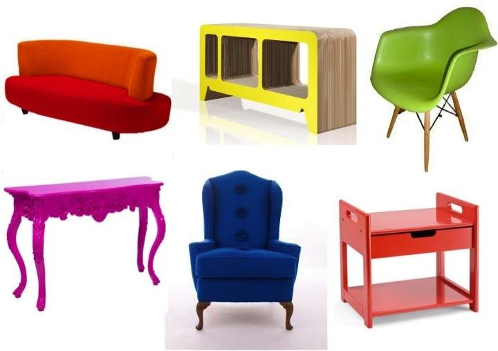Quick Shop Coloured Furniture