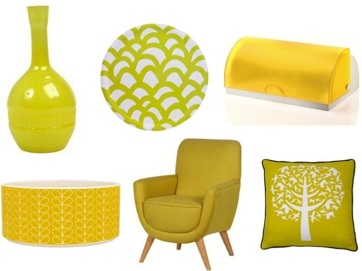 Colour fix yellow - Home accessories yellow ...