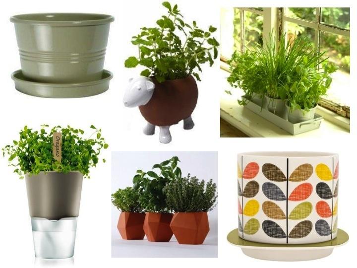 Indoor Herb Planters Inspiration Of Indoor Herb Garden Pots Photo