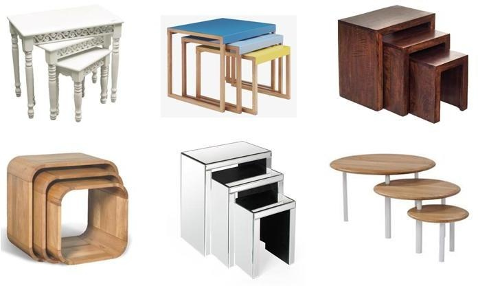Quick Shop Nesting Tables Furnish Co Uk