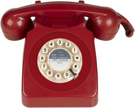 1960s 746 Phone From Oliver Bonas Furnish Co Uk