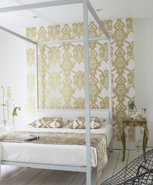10 ways with wallpaper for Papel decorativo para pared