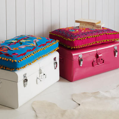 blanket and storage chest