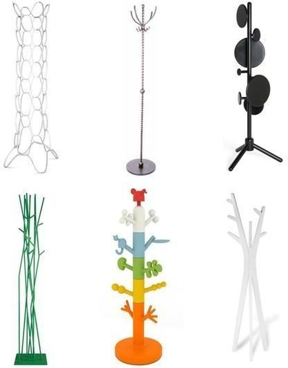 a selection of our favourite coat stands - Funky Coat Racks