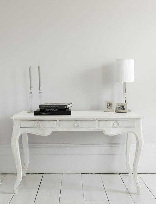 white writing desks