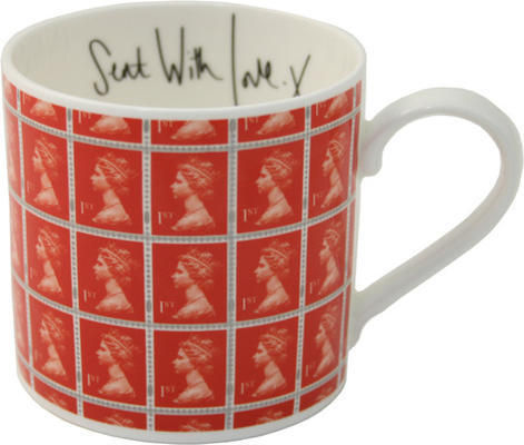 Stamp Collection Mugs From Utility Furnish Co Uk