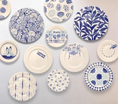 Blue And White Plates Mesmerizing With blue and white plates from roelofs rubens blue and white plates from  Photos