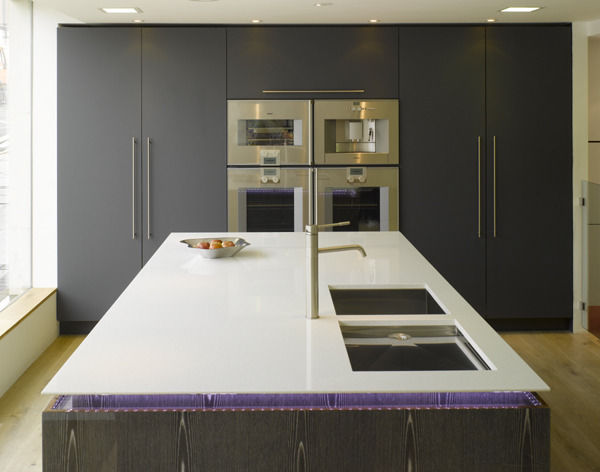 The Furnishcouk Guide To Bespoke Kitchens Furnishcouk - Dark grey matt kitchen