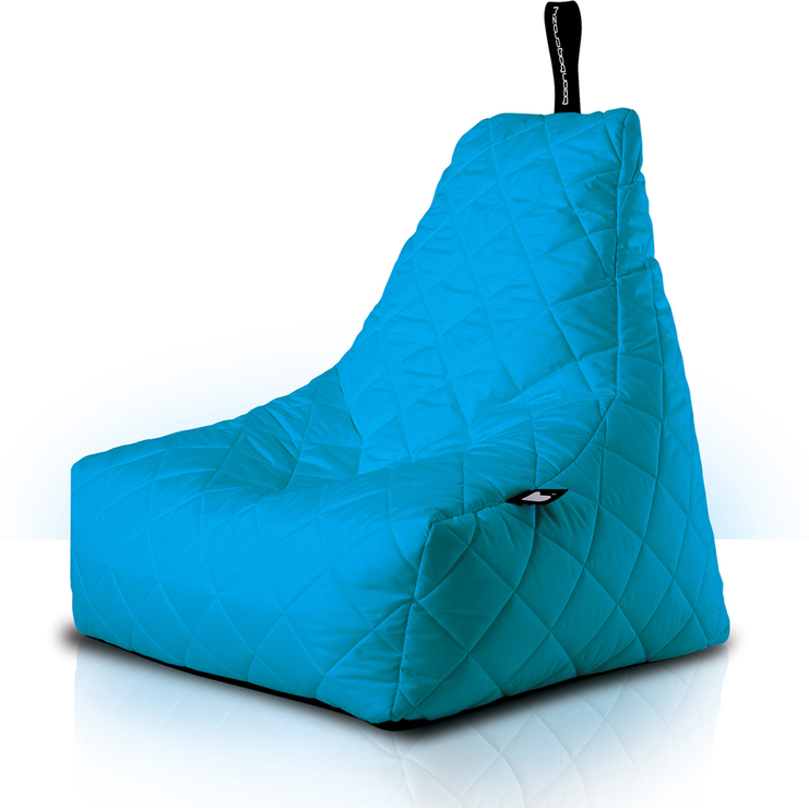 Mini-b Bean Bag Chair - Turquoise - Mini-b Bean Bag Chair - Turquoise Bean Bags