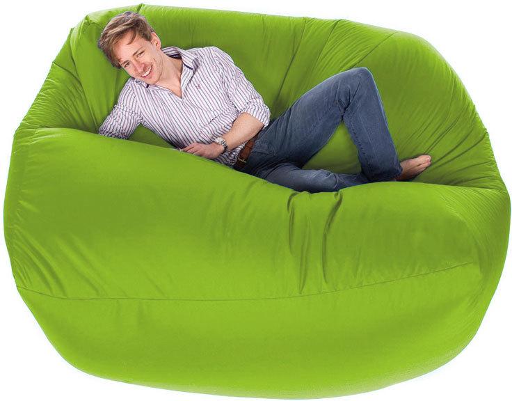 Surprising Giant Bean Bag Lime Lamtechconsult Wood Chair Design Ideas Lamtechconsultcom