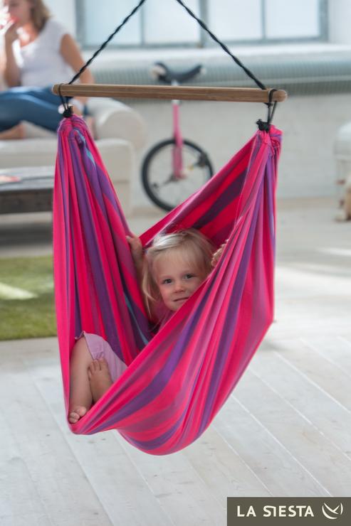 La Siesta Lori Lilly Organic Hammock Chair For Children Hammocks