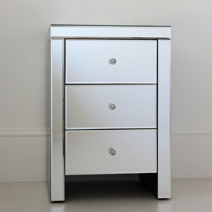 mirrored bedside furniture. Mirrored Bedside Table Mirrored Bedside Furniture
