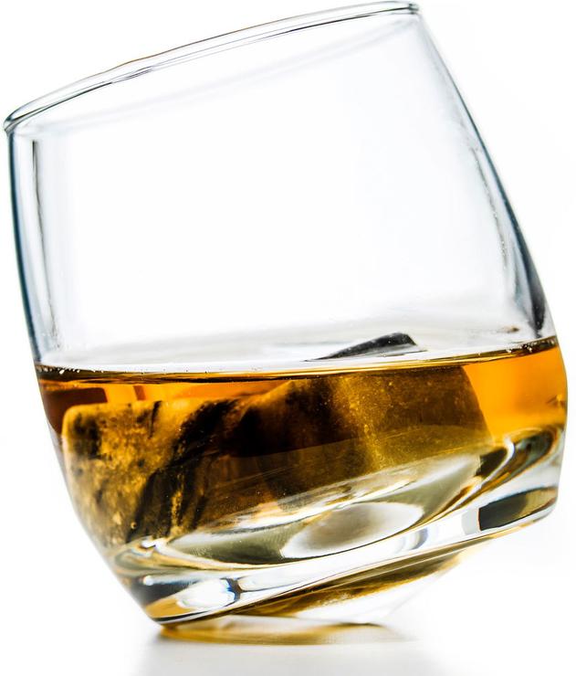 Sagaform Rocking Whiskey Glasses : Brandy and shot glasses
