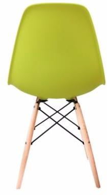 eames style dsw chair in green chairs