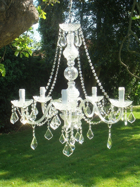 Clear crystal chandelier light 5 arms chandeliers clear crystal chandelier light 5 arms image 3 aloadofball Choice Image