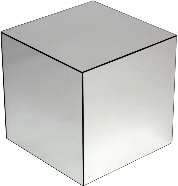 Cube Mirrored Table Image 5