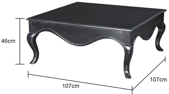 Square Coffee Table Image 2