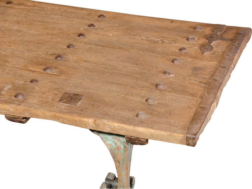 Barn Door Coffee Table Coffee Table Image 3