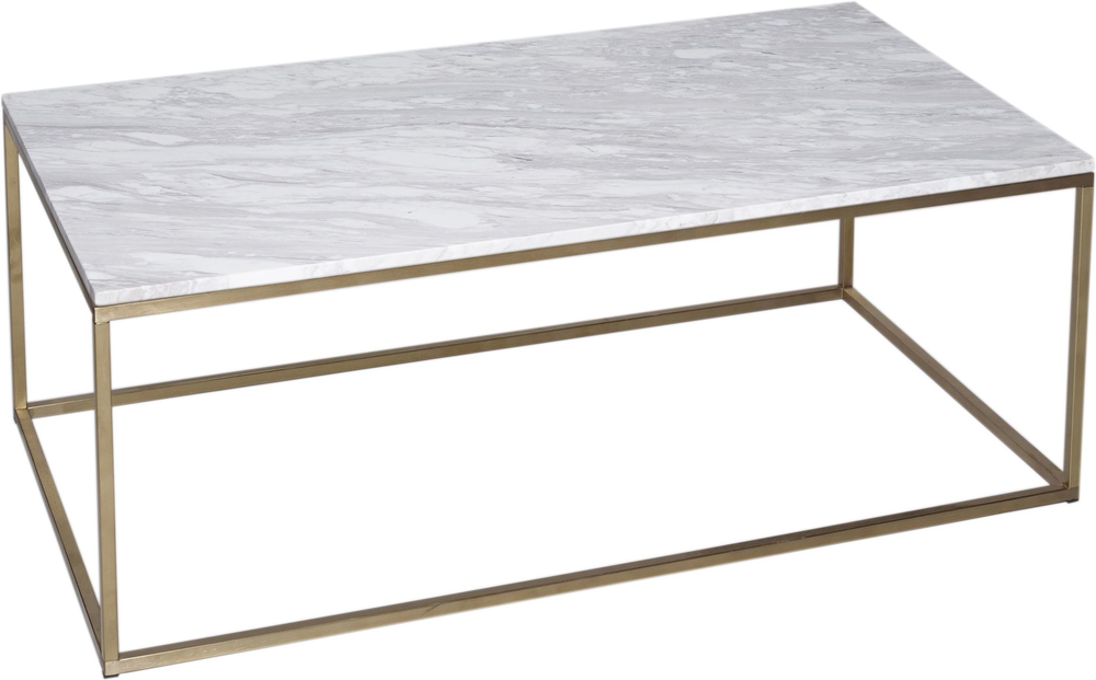 Marble Top Brass Coffee Table.Kensal Rectangle Coffee Table Marble Top With Steel Or Brass Base
