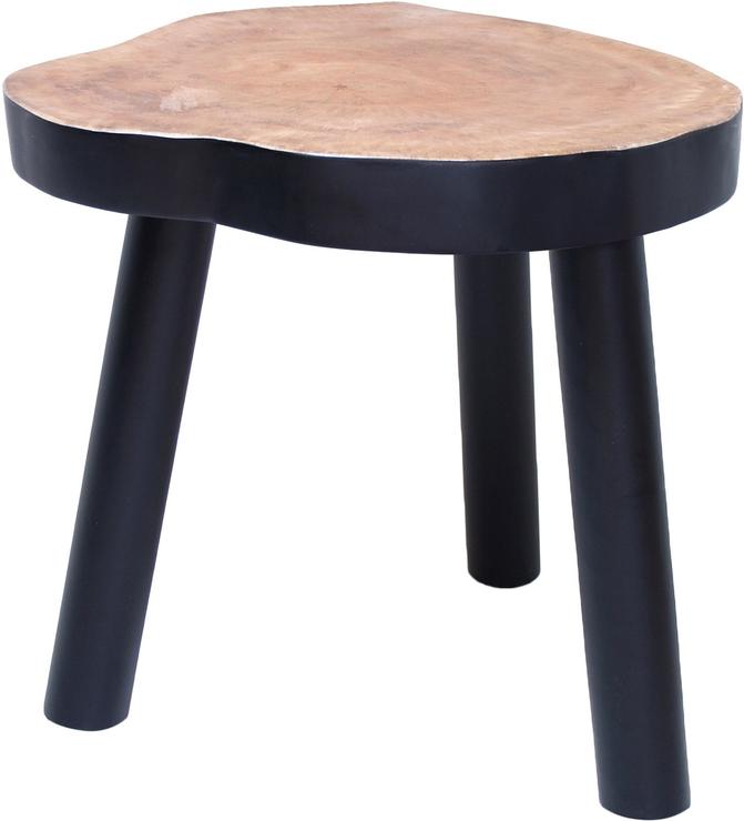 Mango Wood Coffee Table Black
