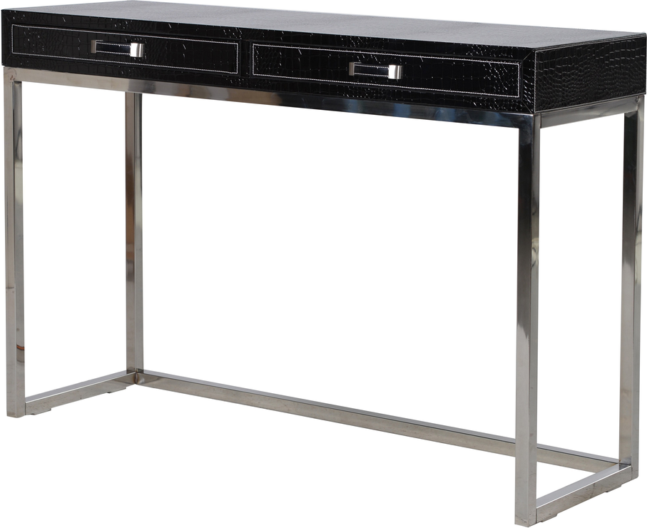 Faux Croc Leather Console Table Console tables : console tables 2599918 from furnish.co.uk size 907 x 740 png 308kB