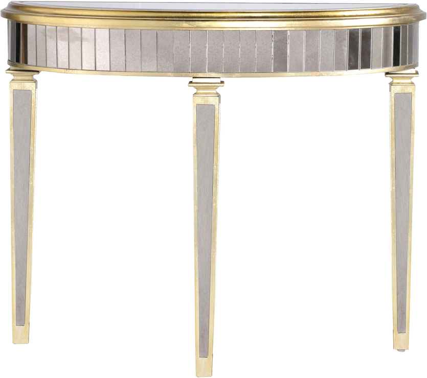 Curved Venetian Console Table