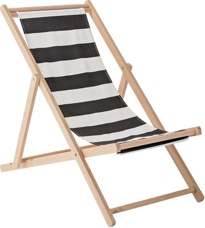 bloomingville deck chair stripe kit succulent | deck chairs