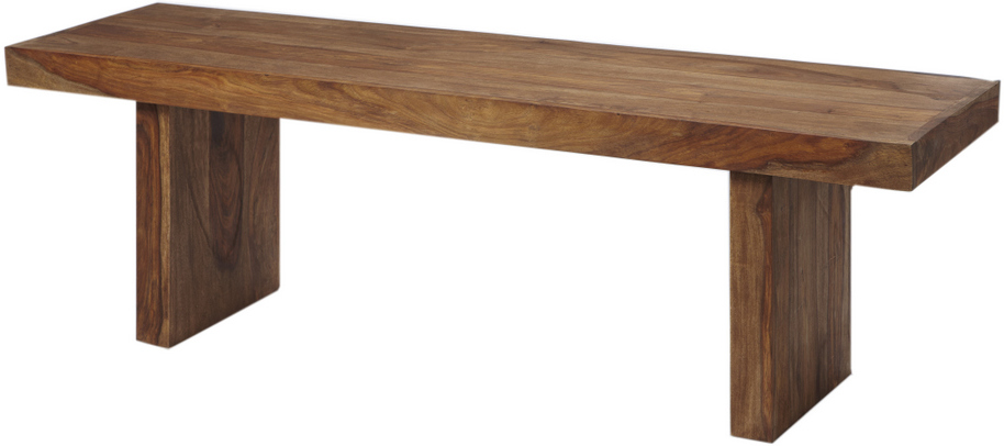 Zen Natural Sheesham Bench Dining Benches