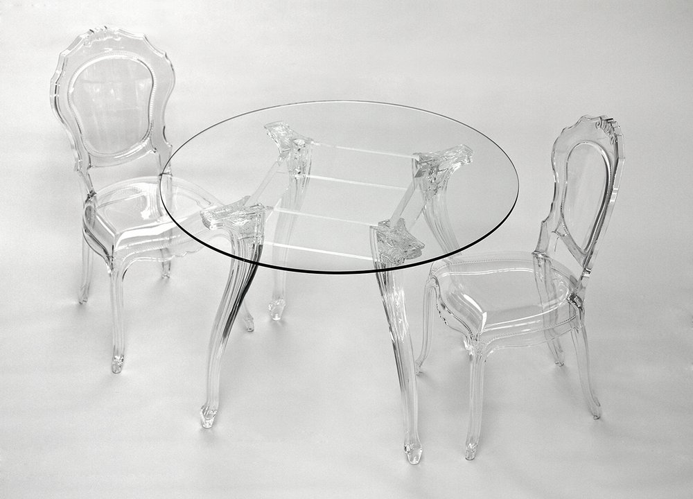Ameline Acrylic Chair Transparent Finish Dining chairs : dining chairs 2830685 from furnish.co.uk size 1000 x 720 png 817kB