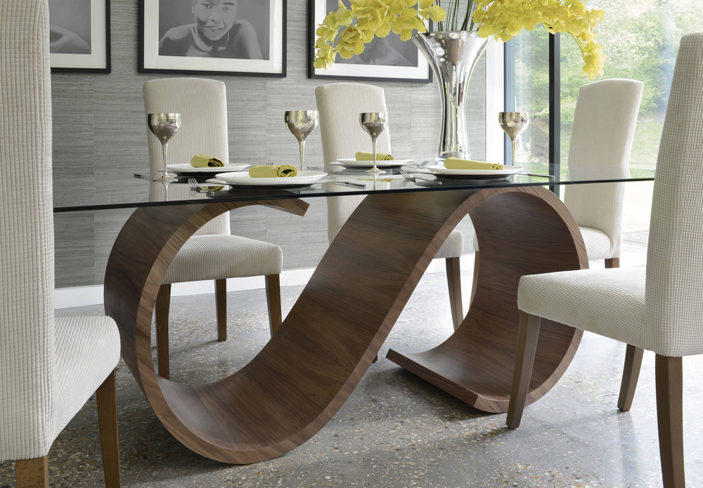 tom schneider swirl dining table dining table image 4