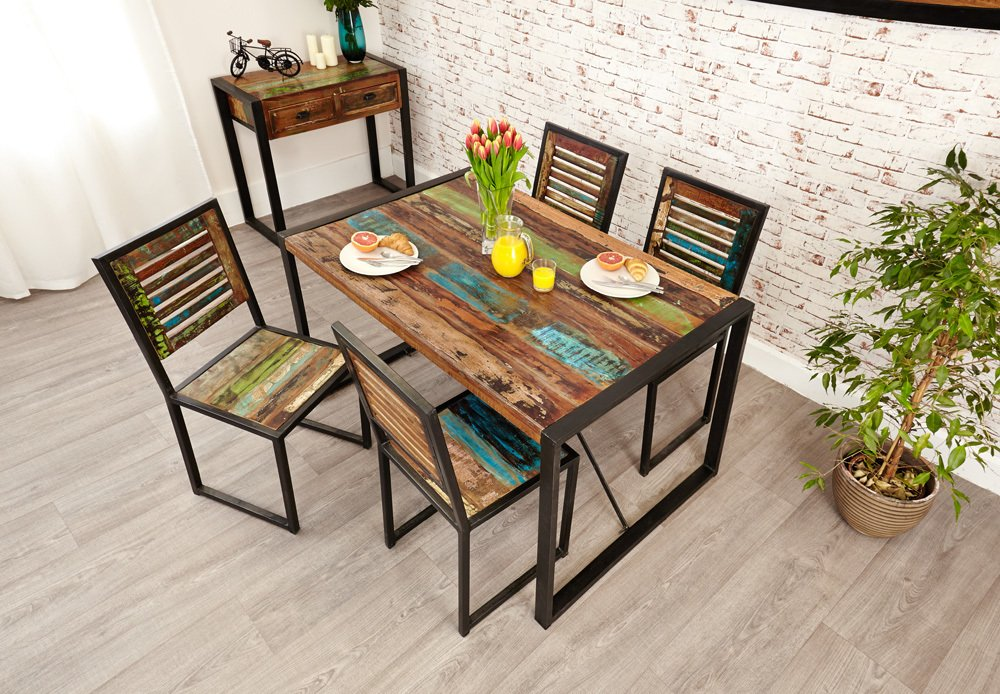 Furnish.co.uk & Shoreditch Rustic Dining Table - Small