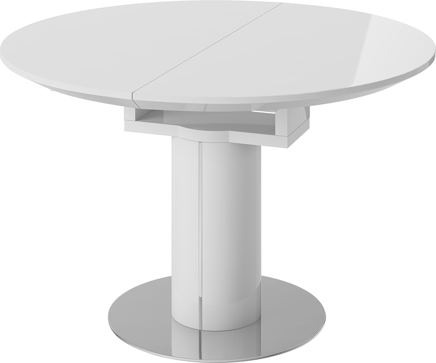 Jessy Round Extending Dining Table Dining Tables