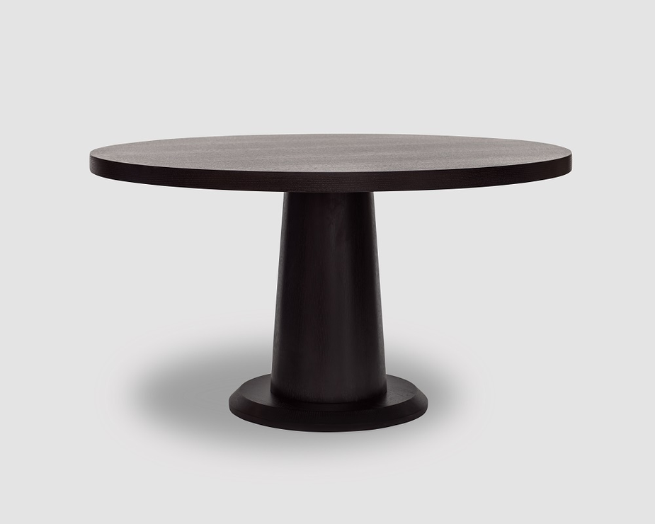 ancora wenge oak round dinner table dining tables