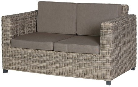 Two Seater Rattan Outdoor Sofa Garden Chairs
