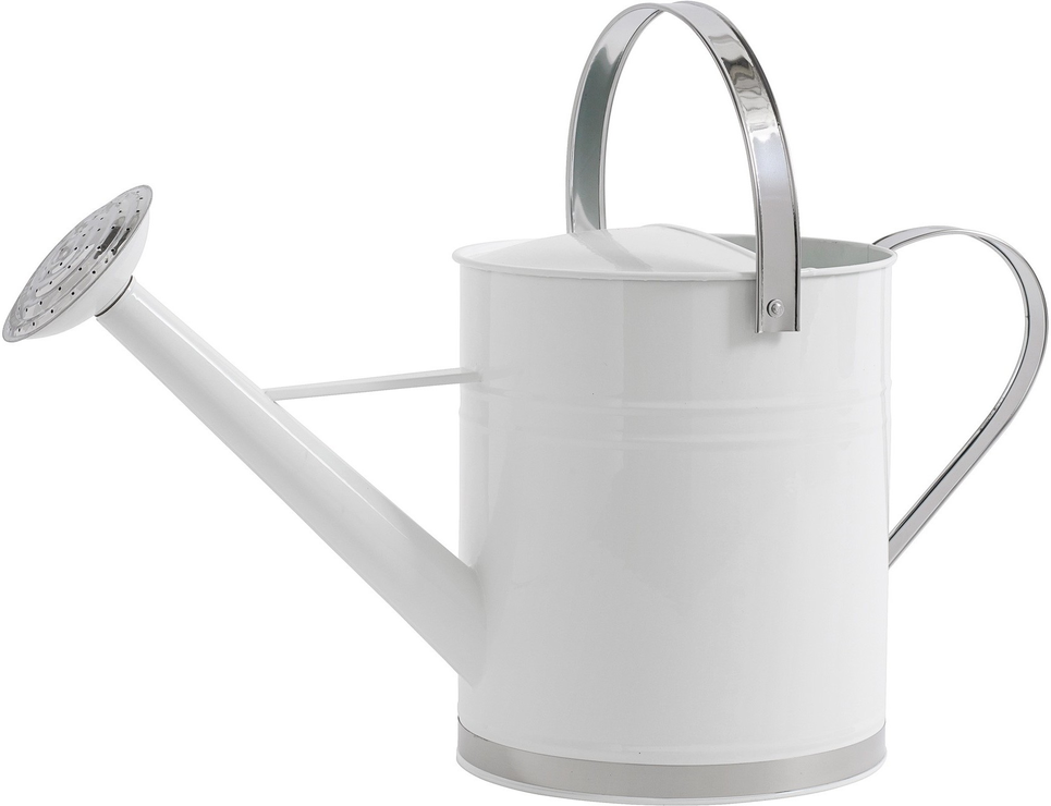 Metal watering can by nordal garden tools for Gardening tools watering