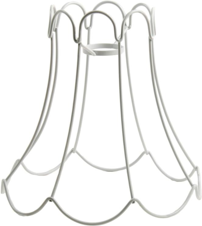 seletti wire frame tulip lampshade