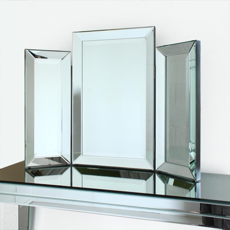 Venetian Three Fold Modern Dressing Table Mirror : Mirrors