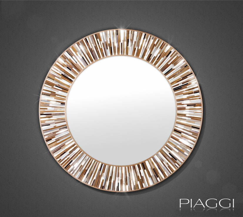 Roulette beige PIAGGI glass mosaic mirror Mirrors : mirrors 2272453 from furnish.co.uk size 827 x 740 jpeg 93kB