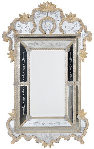 Gold Finish Venetian Mirror (Mirror) | image 2
