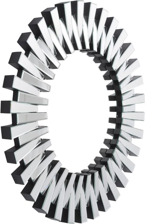 Sunflower Round Mirror Interlocking Glass Frame | Mirrors