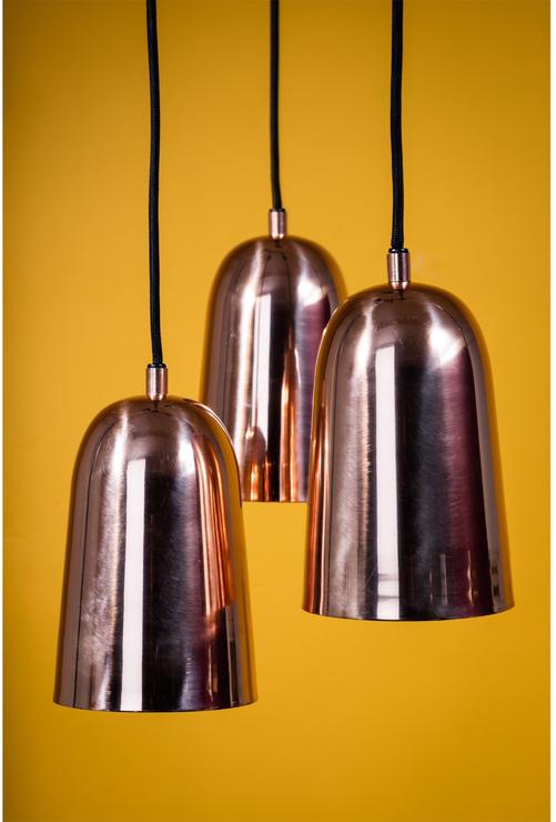 Bloomingville Shiny Copper Pendant Lamp Pendant lights