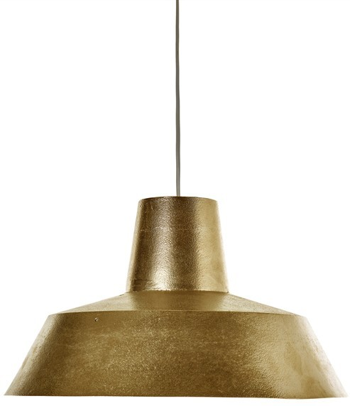 Warehouse pendant lamp brass plated industrial by pols potten warehouse pendant lamp brass plated industrial aloadofball
