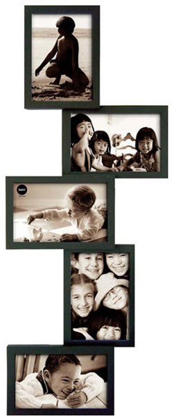 Isernia Tower Multi Frame - Black | Photo frames