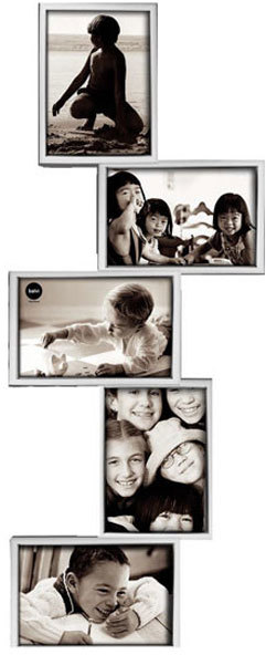 isernia tower multi frame silver - Multi Frame Picture