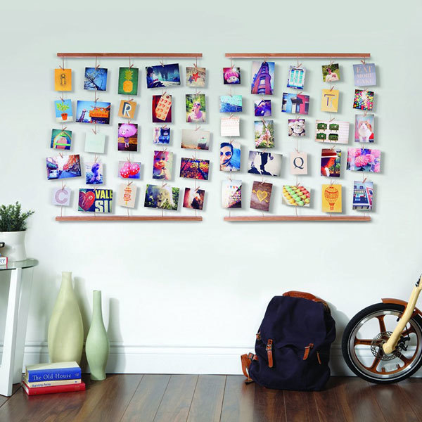 Umbra Hangit Photo Display - Natural | Photo frames