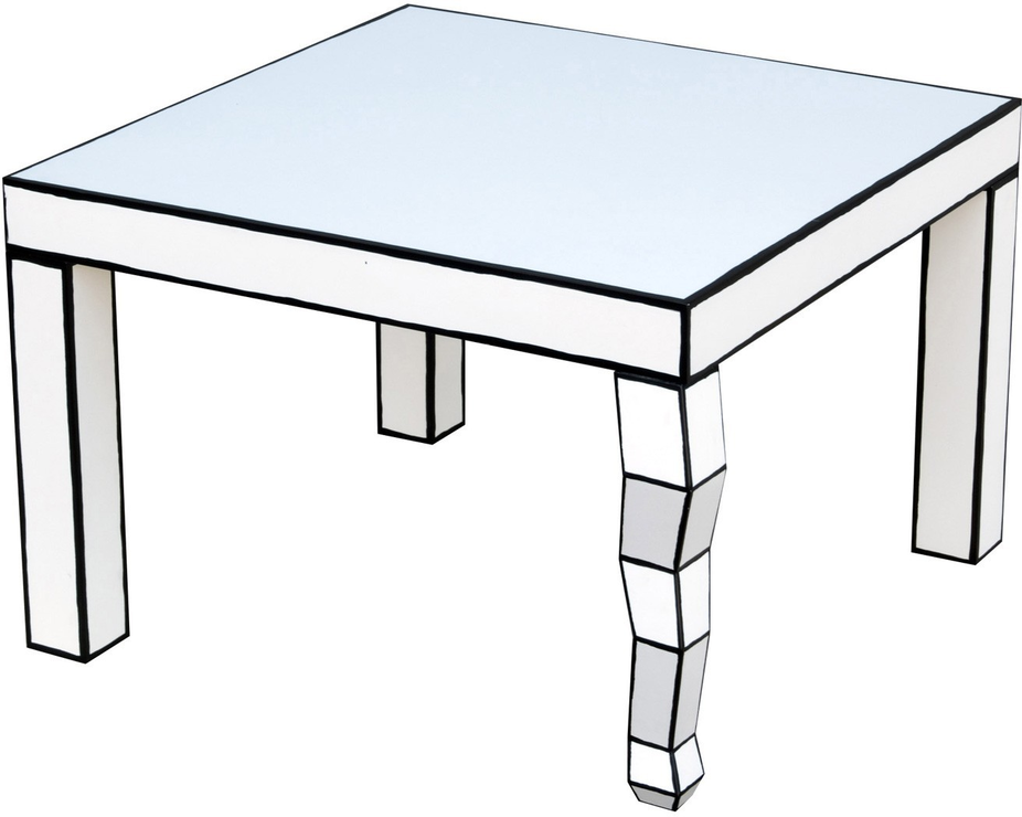 Seletti Cartoon Side Table French Quirky Design