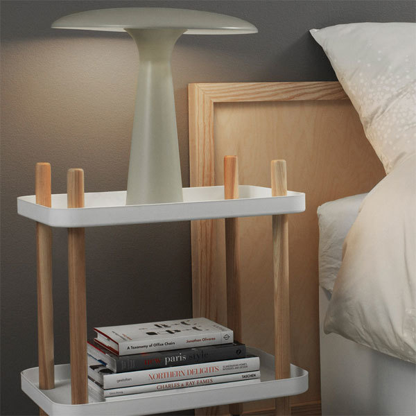 normann copenhagen block table white trays side tables. Black Bedroom Furniture Sets. Home Design Ideas