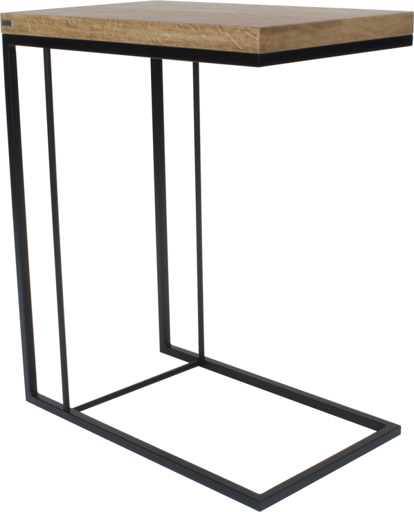 Monty Small Table Oak And Black Finish Side Tables